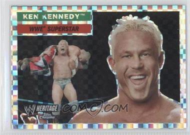 2006 Topps Chrome WWE Heritage X-Fractor #35 - Ken Kennedy