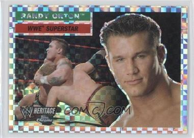 2006 Topps Chrome WWE Heritage X-Fractor #47 - Randy Orton