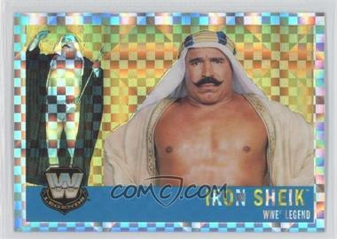 2006 Topps Chrome WWE Heritage X-Fractor #78 - Iron Sheik