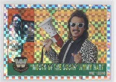 2006 Topps Chrome WWE Heritage X-Fractor #82 - Jimmy Hart