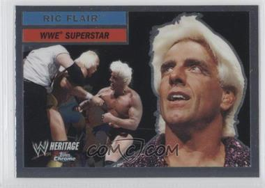2006 Topps Chrome WWE Heritage #25 - Ric Flair