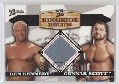 2006 Topps Heritage II WWE - Ringside Relics Mats #NoN - Ken Kennedy, Gunnar Scott