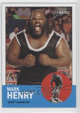 2006 Topps Heritage II WWE [???] #15 - Mark Henry