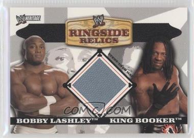 2006 Topps Heritage II WWE [???] #BLKB - Bobby Lashley, King Booker