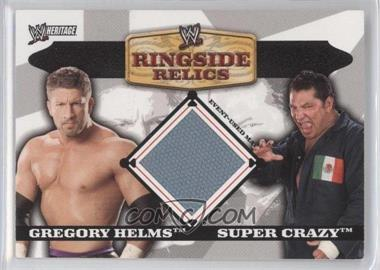 2006 Topps Heritage II WWE [???] #N/A - [Missing]