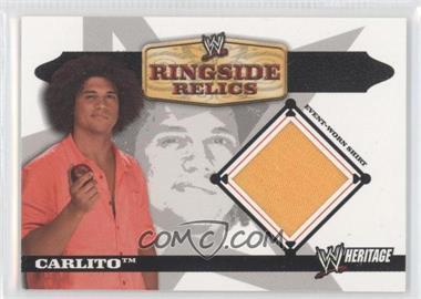 2006 Topps Heritage II WWE Ringside Relics #CA - Carlito