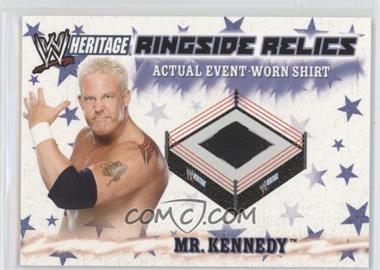2007 Topps Heritage III WWE - Ringside Relics #NoN - Ken Kennedy
