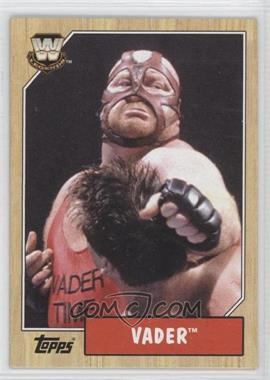 2007 Topps Heritage III WWE [???] #87 - Vader