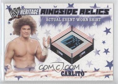 2007 Topps Heritage III WWE [???] #N/A - Carlito