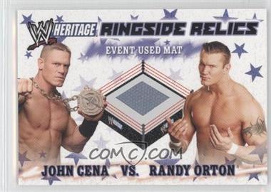 2007 Topps Heritage III WWE [???] #N/A - John Cena, Randy Orton