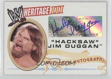 2007 Topps Heritage III WWE Autographs #JIDU - Jim Duggan