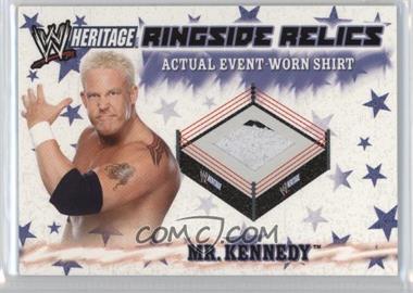 2007 Topps Heritage III WWE Ringside Relics #NoN - Ken Kennedy