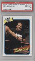 Ron Simmons [PSA 10]