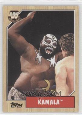 2007 Topps Heritage III WWE #85 - Kamala