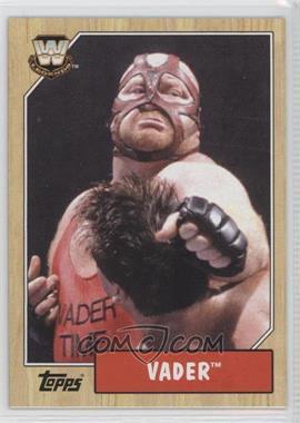 2007 Topps Heritage III WWE #87 - Vader
