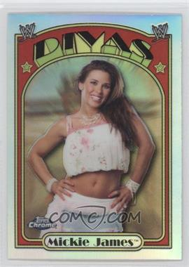 2007 Topps Heritage WWE Chrome Heritage II - [Base] - Refractor #58 - Mickie James