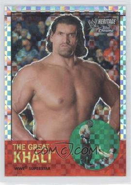 2007 Topps Heritage WWE Chrome Heritage II - [Base] - X-Fractor #7 - The Great Khali