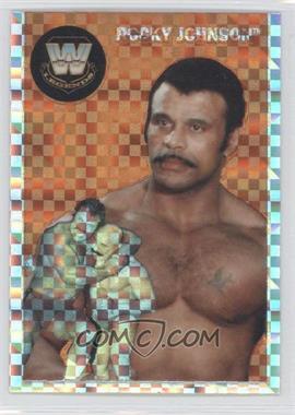 2007 Topps Heritage WWE Chrome Heritage II X-Fractor #81 - Rocky Johnson