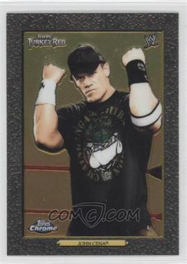 2007 Topps Heritage WWE Chrome Heritage II #93 - John Cena