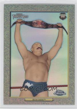 2007 Topps Heritage WWE Chrome II Refractor #96 - Iron Sheik