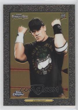 2007 Topps Heritage WWE Chrome II #93 - John Cena