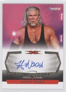 2008 TRISTAR TNA Wrestling Cross the Line - Autographs - Gold #C-KN - Kevin Nash /50