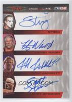 Sting, Kevin Nash, Jeff Jarrett, Scott Steiner /25