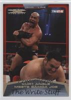 Kurt Angle Meets Samoa Joe /50