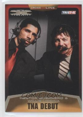 2008 TRISTAR TNA Wrestling Cross the Line Gold #9 - Hector Guerrero, Willie Urbina /50