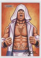 Scott Blair Art - AJ Styles