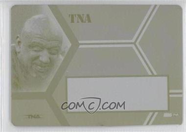 2008 TRISTAR TNA Wrestling Impact! - TNAutographs - Printing Plate Yellow Non Autographed #A-T - Tomko /1
