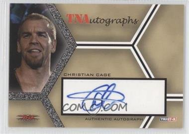 2008 TRISTAR TNA Wrestling Impact! - TNAutographs #A-CC - Christian Cage