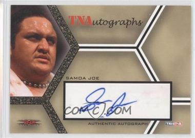 2008 TRISTAR TNA Wrestling Impact! [???] #A-SJ - Samoa Joe /50