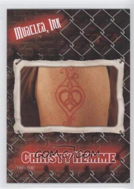 2008 TRISTAR TNA Wrestling Impact! [???] #MI-7 - Christy Hemme