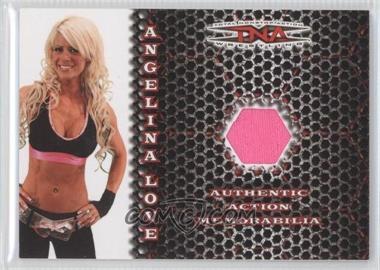 2008 TRISTAR TNA Wrestling Impact! Action Memorabilia #AA-AL - Angelina Love /250