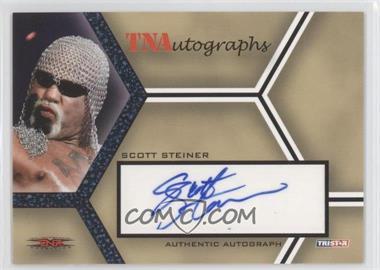 2008 TRISTAR TNA Wrestling Impact! TNAutographs Blue #A-SS - Scott Steiner /5