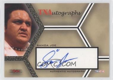 2008 TRISTAR TNA Wrestling Impact! TNAutographs Gold #A-SJ - Samoa Joe /50