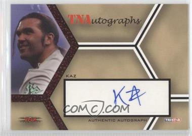 2008 TRISTAR TNA Wrestling Impact! TNAutographs Red #A-K - Kazarian /25