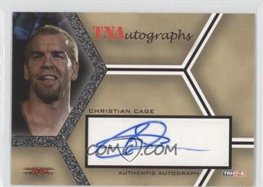 2008 TRISTAR TNA Wrestling Impact! TNAutographs #A-CC - Christian Cage
