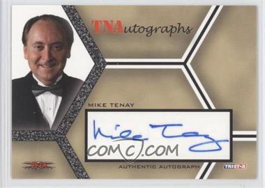 2008 TRISTAR TNA Wrestling Impact! TNAutographs #A-MT - Mike Tenay