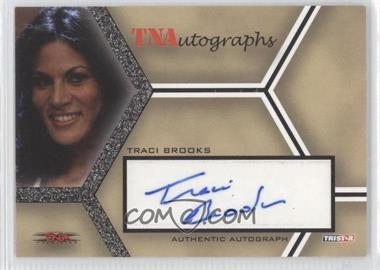 2008 TRISTAR TNA Wrestling Impact! TNAutographs #A-TB - Traci Brooks