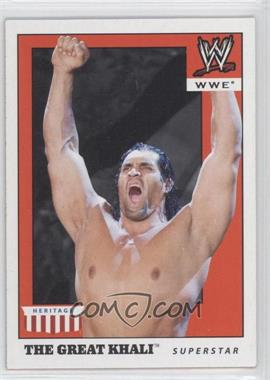 2008 Topps Heritage WWE IV [???] #20 - The Great Khali