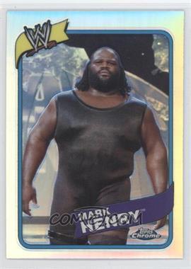 2008 Topps WWE Heritage Chrome - [Base] - Refractors #20 - Mark Henry