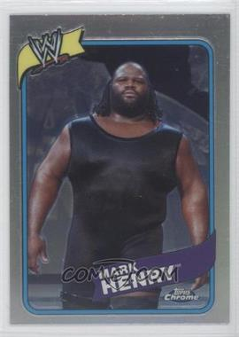 2008 Topps WWE Heritage Chrome [???] #20 - Mark Henry