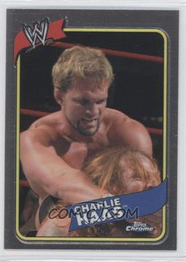 2008 Topps WWE Heritage Chrome [???] #24 - Charlie Haas