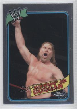 2008 Topps WWE Heritage Chrome [???] #30 - Jim Duggan