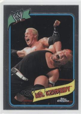 2008 Topps WWE Heritage Chrome [???] #51 - [Missing]