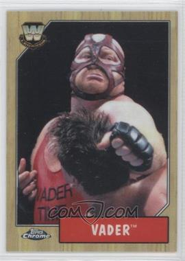 2008 Topps WWE Heritage Chrome [???] #87 - Vader