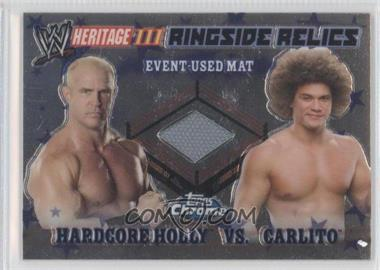 2008 Topps WWE Heritage Chrome [???] #N/A - Hardcore Holly, Carlito