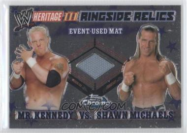 2008 Topps WWE Heritage Chrome [???] #N/A - Mr. Kennedy, Shawn Michaels